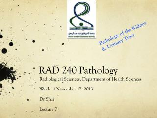 RAD 240 Pathology
