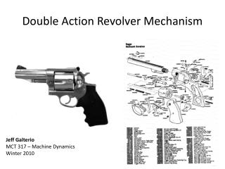 Double Action Revolver Mechanism