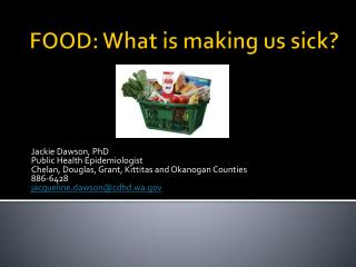FOOD: What is making us sick?