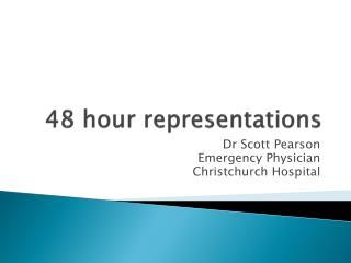48 hour representations
