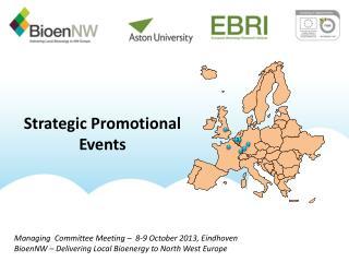 Strategic Promotional Events