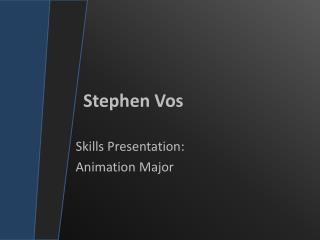 Stephen  Vos