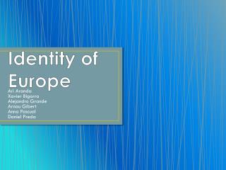 Identity of Europe