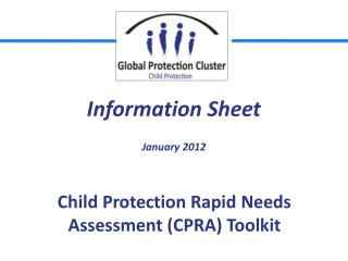 Child Protection Rapid Needs Assessment (CPRA) Toolkit