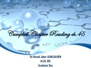Campbell Chapter Reading ch.45