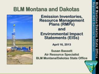 BLM Montana and  Dakotas