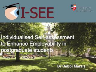 Individualised Self-assessment to Enhance Employability in postgraduate students