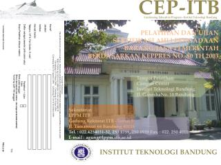 Continuing Education Program -  Institut Teknologi  Bandung