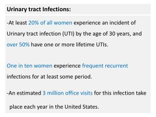 Urinary tract Infections: