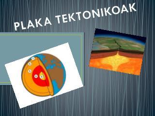 PLAKA TEKTONIKOAK