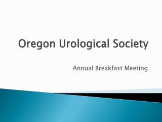 Oregon Urological Society