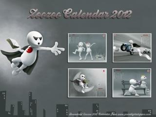 zoozoo calendar 2012