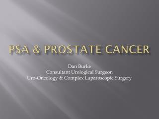PSA & Prostate Cancer