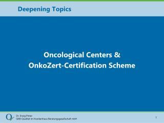 Deepening Topics