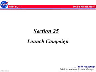 Section 25 Launch Campaign