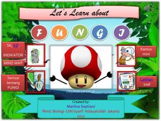 Selamat datang  di  dunia  Fungi…