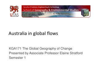 Australia in global flows