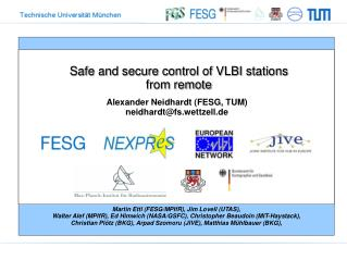 Safe and secure control of VLBI  stations  from remote