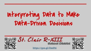Using Data to Drive Great Instruction