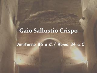 Gaio Sallustio Crispo