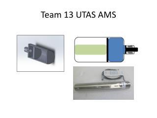 Team 13 UTAS AMS