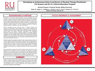Developing an Autonomous Entry-Level Doctor of Physical Therapy Practitioner: