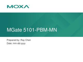 MGate 5101-PBM-MN