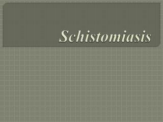 Schistomiasis