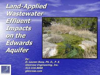 Land-Applied Wastewater Effluent Impacts on the Edwards Aquifer