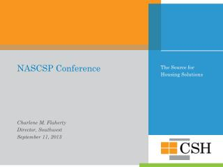 NASCSP Conference