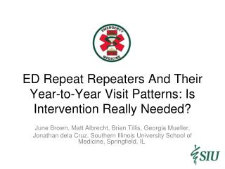 ED Repeat Repeaters And Their Year-to-Year Visit Patterns: Is Intervention Really Needed?