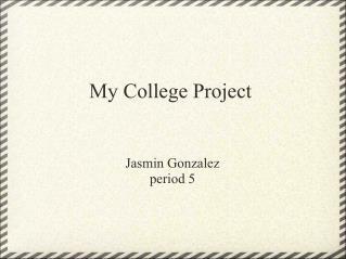 Jasmin G. Period 3