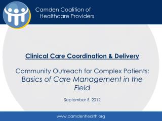 Camden Coalition of   Healthcare Providers