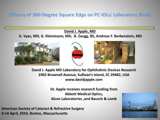 Efficacy of  360-Degree Square Edge on PC IOLs: Laboratory Study