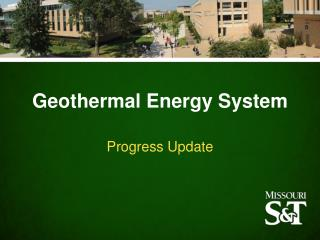 Geothermal Energy  System