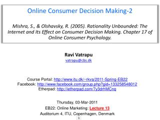 Online Consumer Decision Making-2