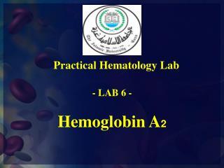 Hemoglobin A 2