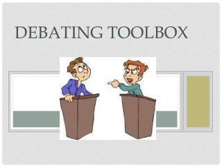 Debating Toolbox