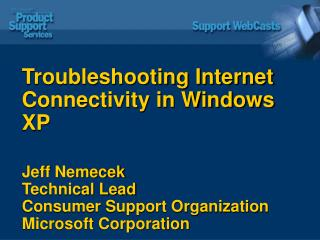 Troubleshooting Internet Connectivity in Windows XP