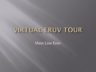 Virtual  Eruv  tour