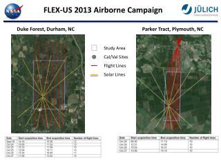 FLEX-US 2013 Airborne  Campaign
