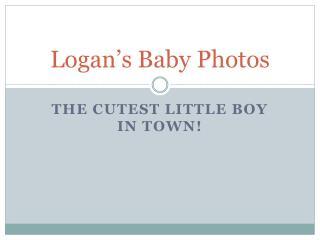 Logan's Baby Photos