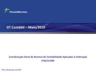 GT Contábil – Maio/2010