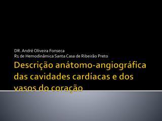 Descrição  a nátomo-angiográfica  das cavidades cardíacas e dos vasos do coração