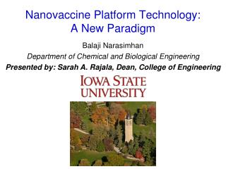 Nanovaccine Platform Technology:  A New Paradigm