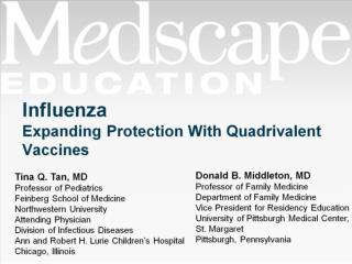 Influenza Expanding Protection With Quadrivalent Vaccines