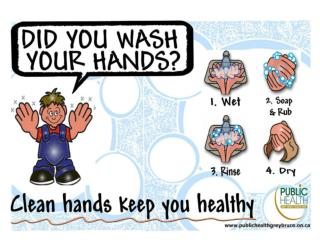 Illnesses Caused by Inadequate Hand Hygiene