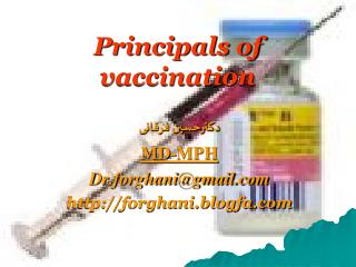 Principals of vaccination