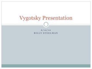 Vygotsky  Presentation