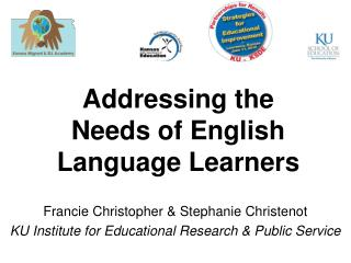 Addressing the Needs of English Language Learners